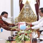 Presiden Terima Laporan IHPS II Tahun 2019 dari BPK