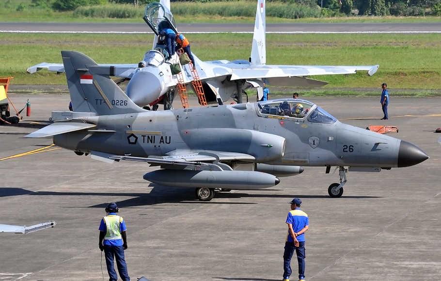 Jet Tempur TNI AU Jatuh di Riau Jenis Hawk
