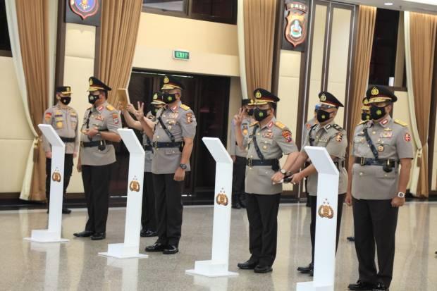 Perintah Jenderal Listyo Sigit Kepada Empat Kapolda Yang Baru Dilantik