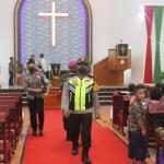 Polres Nias Selatan Bersama Jajaran TNI Gelar Patroli Skala Besar