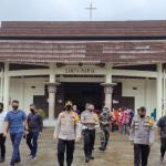 Kapolres Nias Tinjau Langsung Pelaksanaan Kebaktian Perayaan Paskah