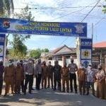 Jajaran Satuan Lalu Lintas Polda NTB Adakan Lomba Kampung Tertib Lalu Lintas