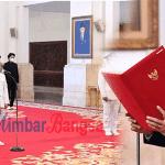 Presiden Resmi Lantik Gubernur dan Wakil Gubernur Kalimantan Tengah