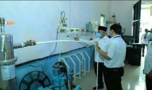 Oksigen Produksi RSUD HSU Kalimantan Selatan. Antara