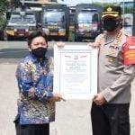 TNI dan Polri Bersinergi Menekan Pandemi Covid-19 di Jakarta Pusat