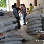 Bantuan untuk korban banjir di Nias Utara