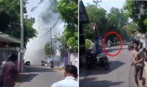 Ledakan di Pasuruan