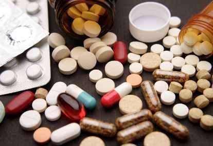 Ilustrasi obat ilegal